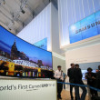 Samsung Electronics unveiled the world?s first Curved UHD TV